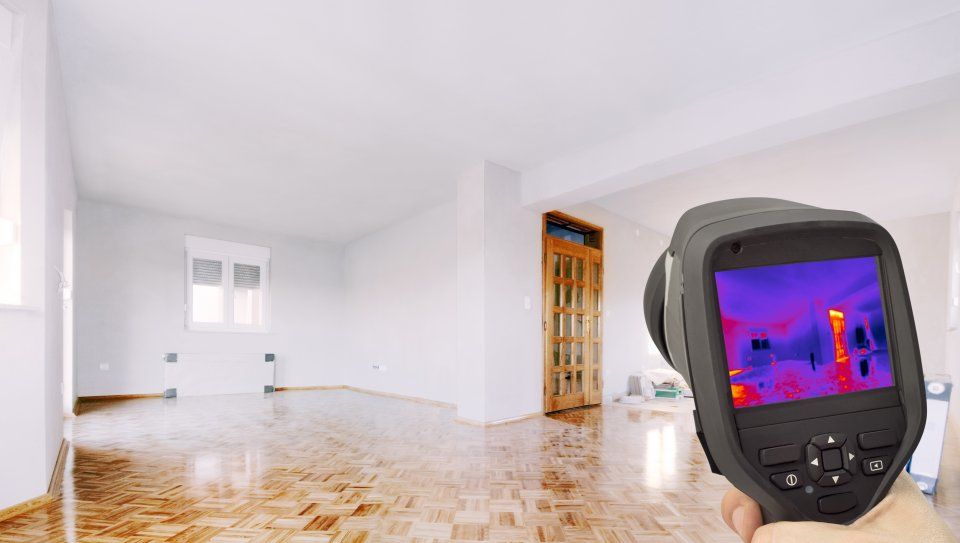 infrared imaging inside home