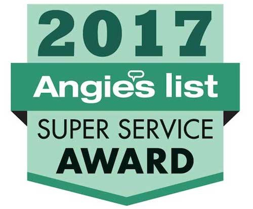 Home Energy Medics received the Angie's List 2017 Super Service Award