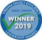Virginia Energy Efficiency Leadership Award 2019