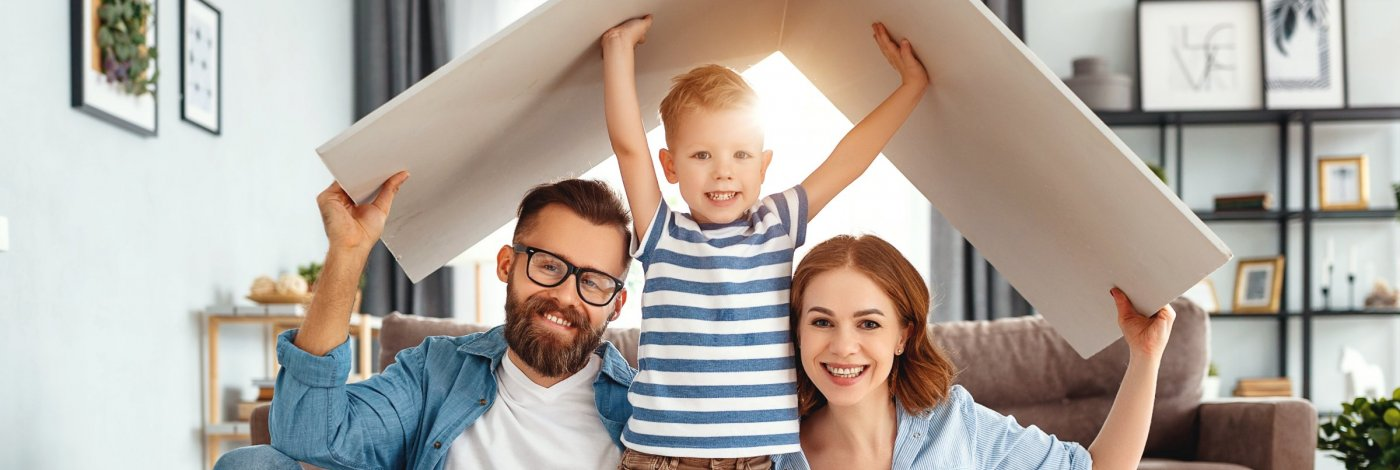 Family in a Healthy Home