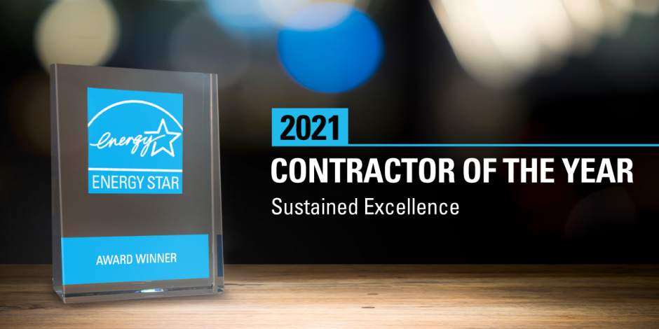HPWES Contractor of the Year Award 2021