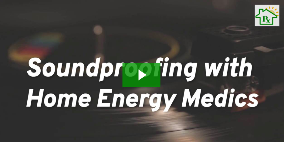 how does soundproofing work? videographic thumbnail home energy medics