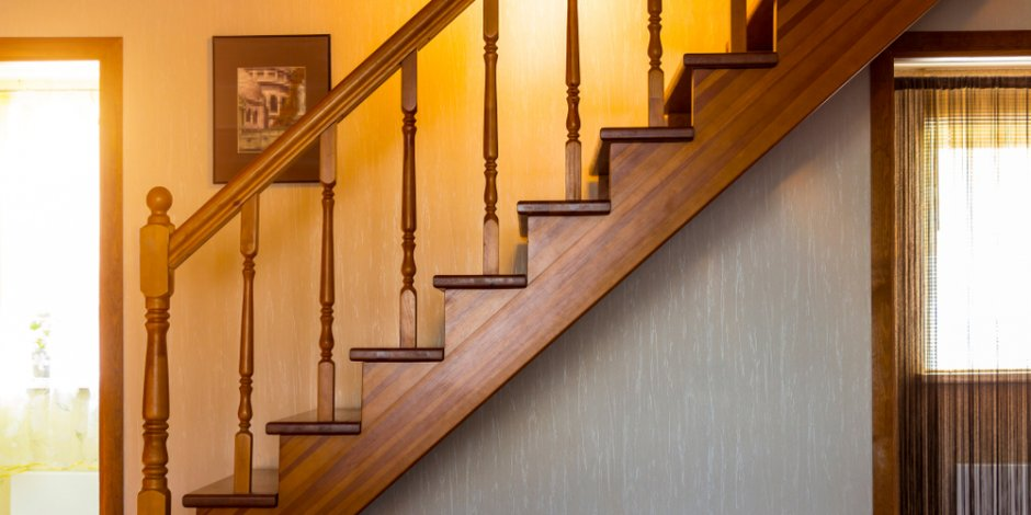 stairs leading to second floor of home