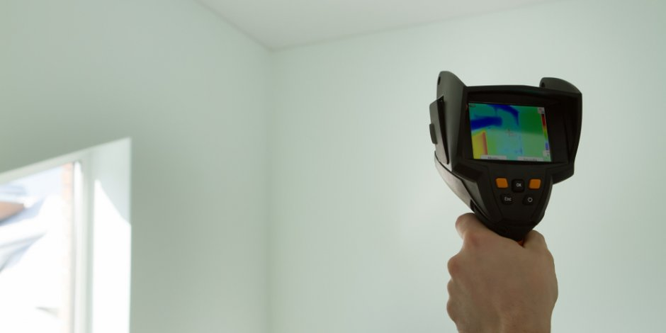 infrared imaging inside a home